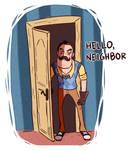 HEEEEEERE'S ...your neighbor