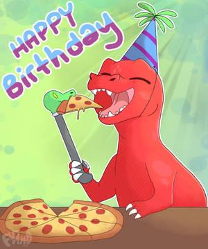 HAPPY BIRTHDAY SAVE by Flamofox