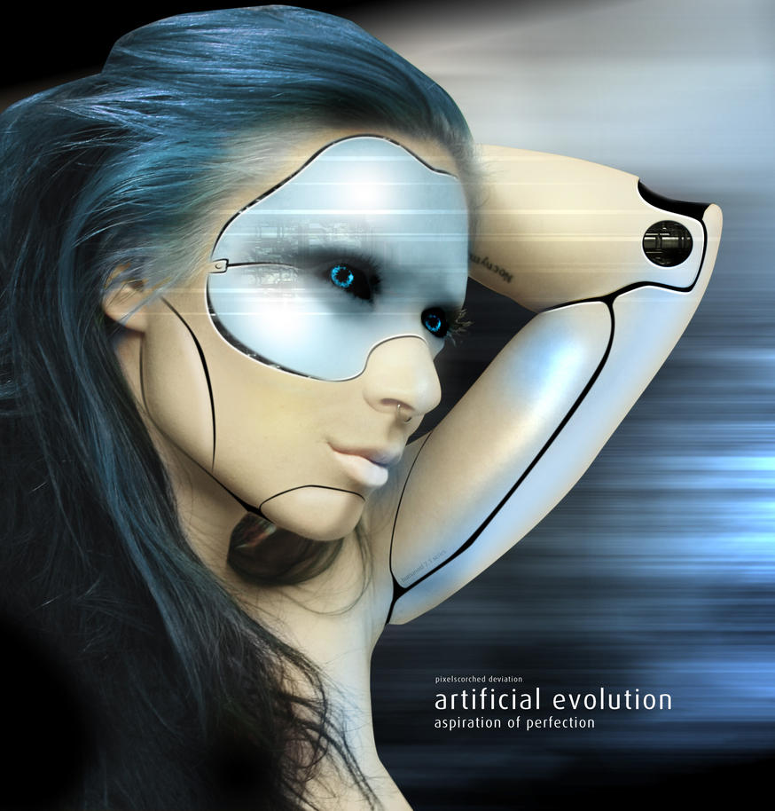 artificial evolution by pixelscorched