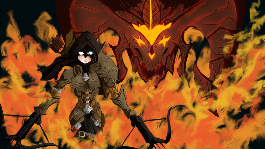 Huntress_Diablo III by Gotetho