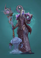 Nightborne Mage by Gotetho