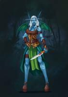 Celtic-Dragon-Night-Elf by Gotetho