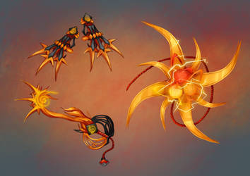 Naruto Keyblades Design -Will of Fire- by Gotetho
