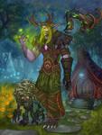 Night Elf Driud