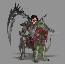 Korvus and Daag