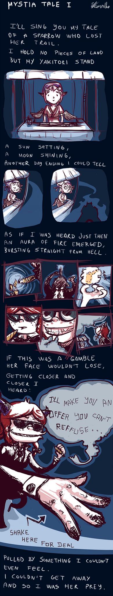 Mystia tale I by JonnyThatJonny