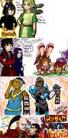 AvatarxTeen Titans Crossover