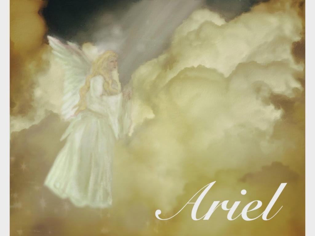 Archangel Ariel by Tanya-Dawn-Art on deviantART: tanya-dawn-art.deviantart.com/art/Archangel-Ariel-339895590
