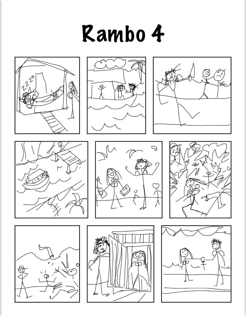 Rambo 4 by Tanya-Dawn-Art