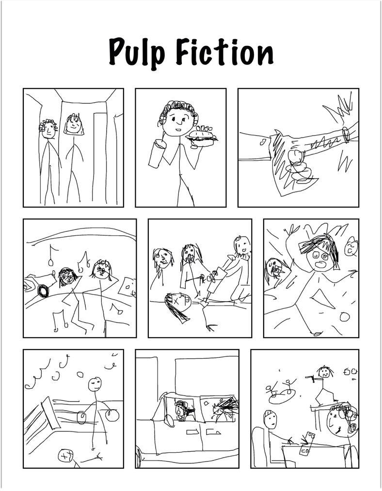 Pulp Fiction by Tanya-Dawn-Art