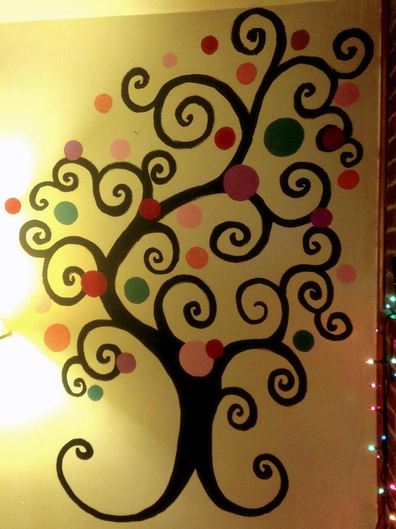 Happy Tree by Tanya-Dawn-Art