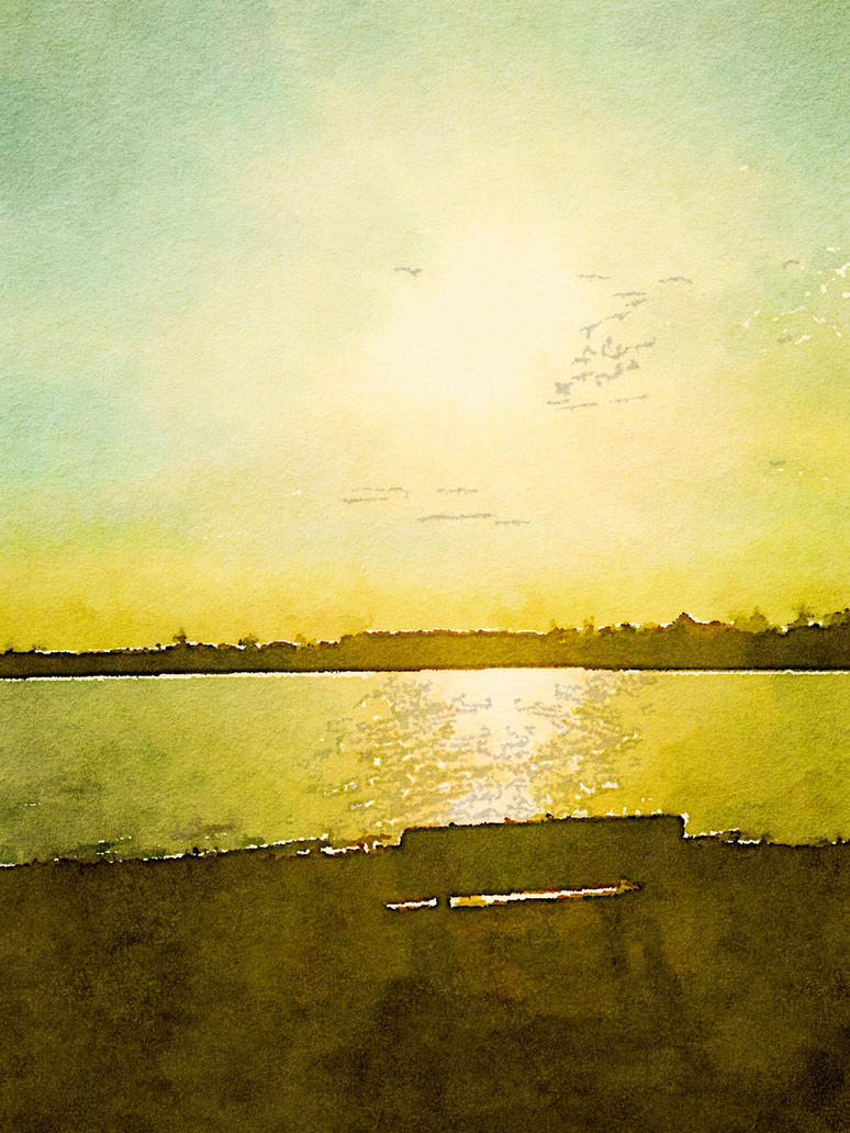 Beach by Tanya-Dawn-Art