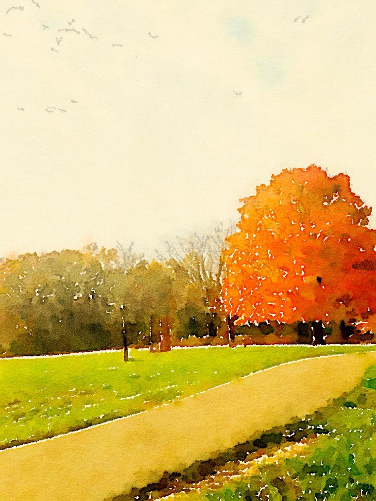 Path by Tanya-Dawn-Art