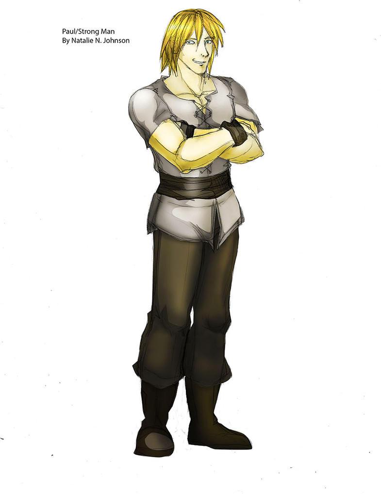 Paul Tristan aka Strong Man by Xiao-Fury