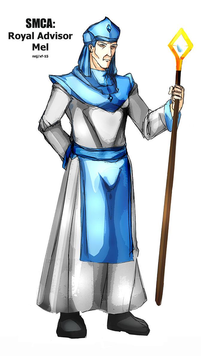 SMCA: Royal Advisor Mel by Xiao-Fury