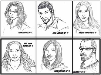 Real People Sketches