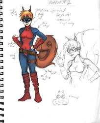 What if Squirrel Girl wasn't Ugly - Spy Girl Suit