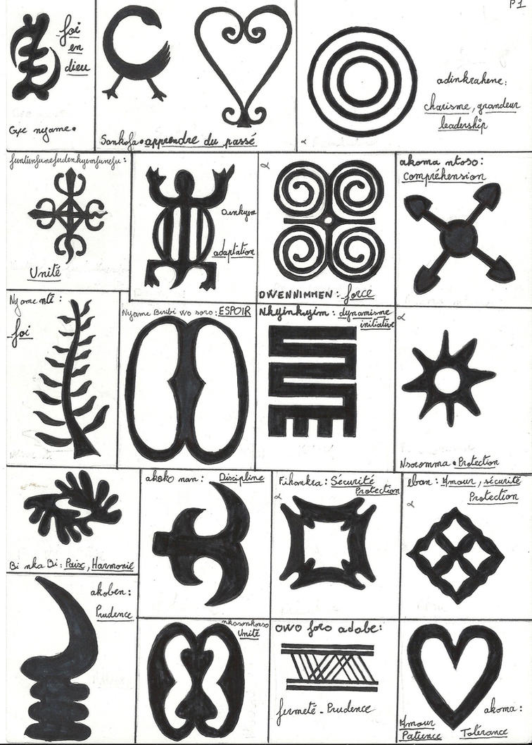 African symbols tattoos images for tatouage african symbols tattoos for adinkra 1whytechoc on deviantart biocorpaavc Images