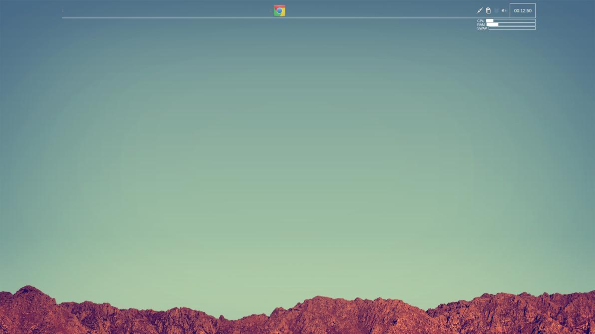 CrunchBang Desktop 11/1/12 by ZachSnyder