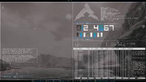 Archlinux ~ Awesome 10/24/13 by ZachSnyder
