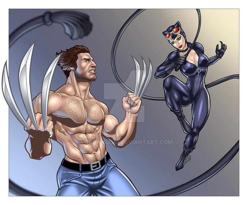 Marvel VS DC by urbanmusiq