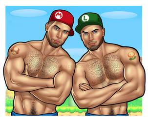 21.12.17| Mario and Luigi by urbanmusiq