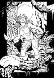 Tomb Raider Coloring Book Competition Submission