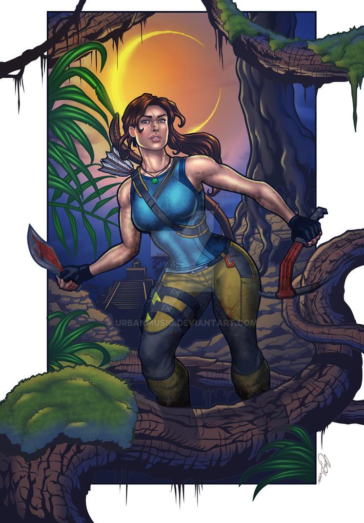 Tomb Raider COLOURED VERSION by urbanmusiq