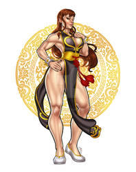 The Queen of Street Fighter