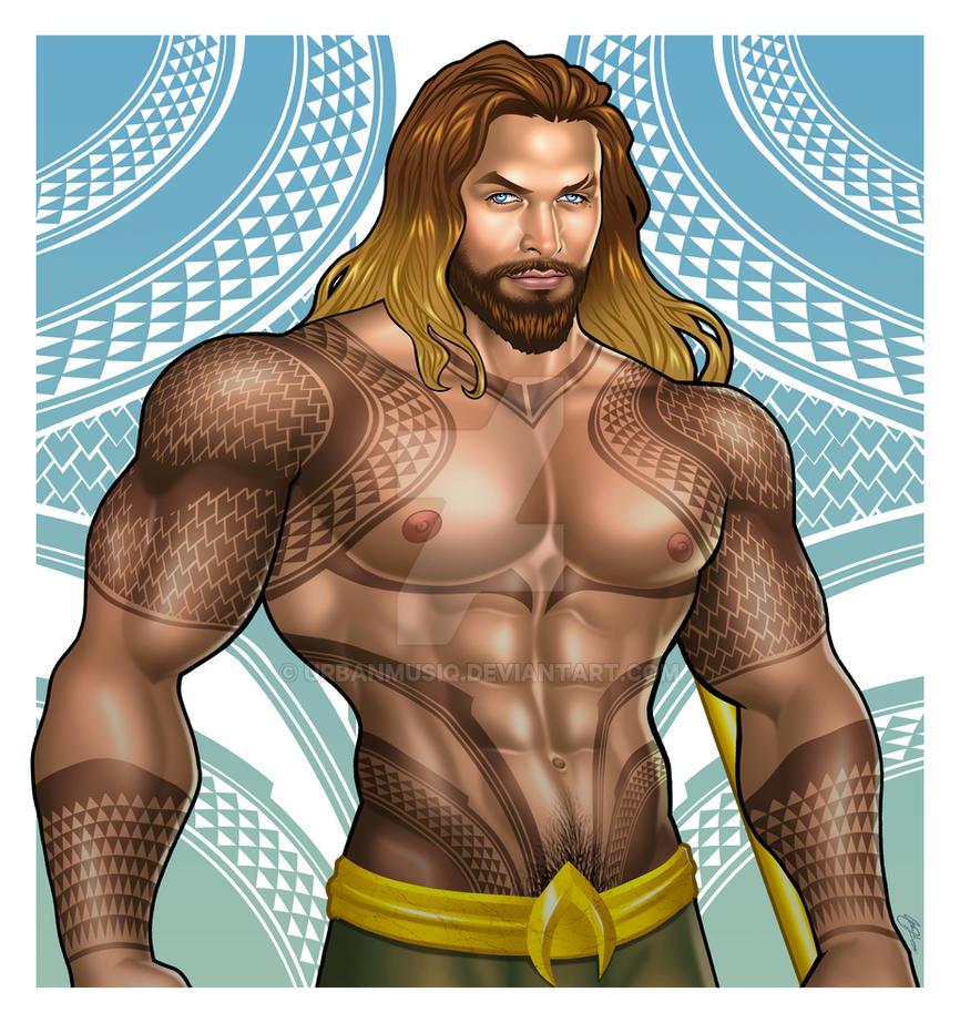 2018 Aquaman Jason Momoa UPDATED Ver by urbanmusiq