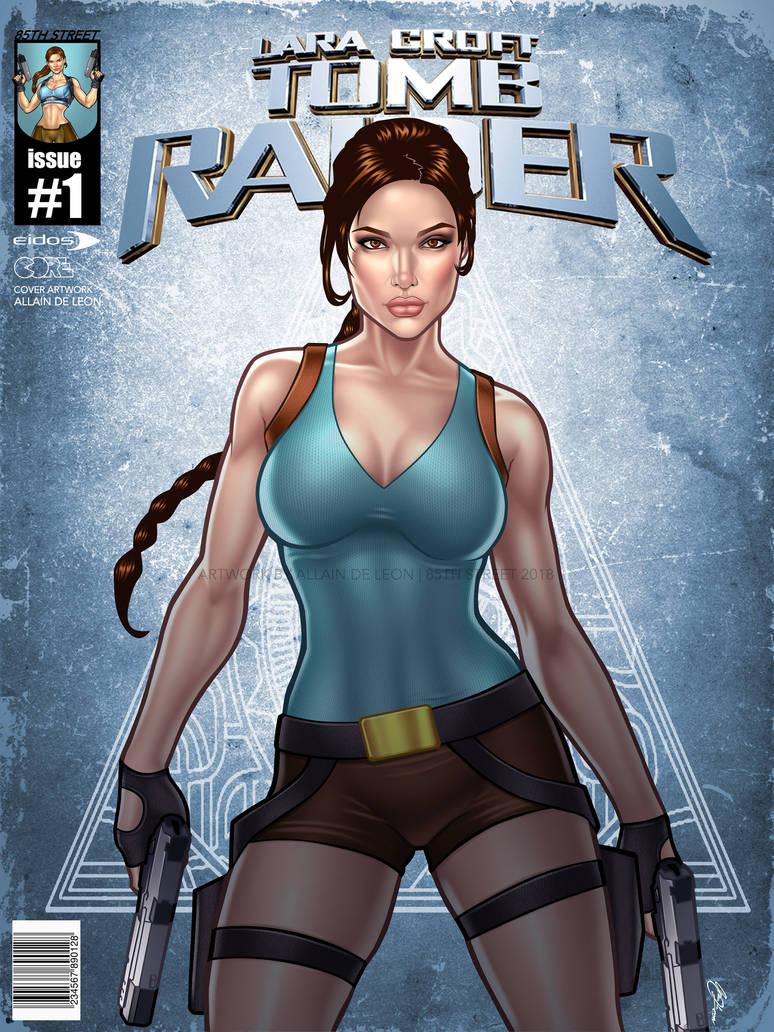 2018 Angelina Jolie as Lara Croft Tomb Raider by urbanmusiq