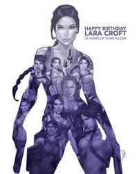 25 Years Of Tomb Raider Happy Birthday Lara Croft