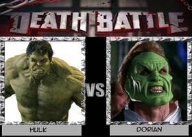 Death Battle - Hulk vs Dorian by CartoonAnimeFan2000