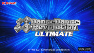 Dance Dance Revolution: Ultimate - Title Screen