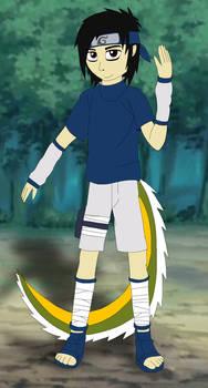 Arthur (Me) as Sasuke Uchiha