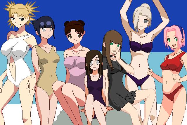 Naruto bikini girls
