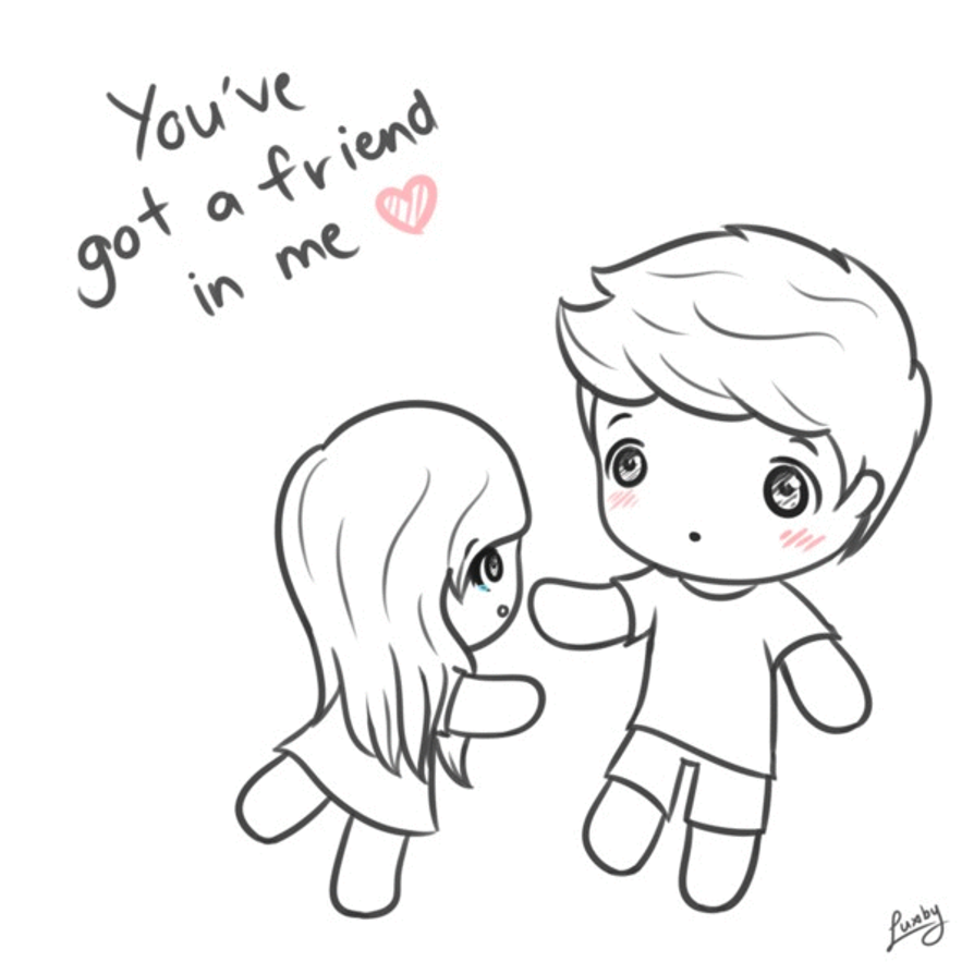 You 39 ve got a friend in me GIF by luxby on DeviantArt