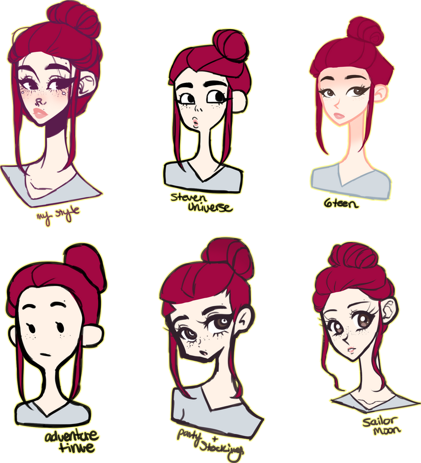 art style challenge by jawlatte on deviantart