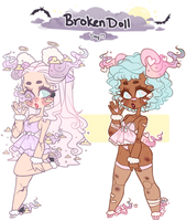 Day 17: Broken Doll - CLOSED - by jawlatte