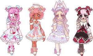 Dreamy Ursa: Lolita Adopts Set Price .:1/4 OPEN:.