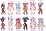 Dreamy Ursa: Pokemon Adopts -2/12 open-