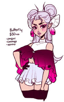 butterfly adopt - closed -
