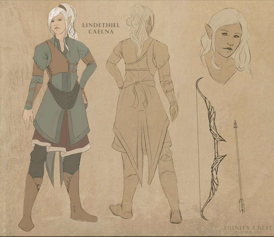 Lindi - Character Design by TrinityCrest