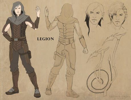 Legion - Character Design