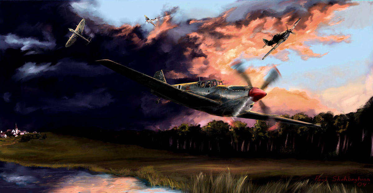 A break in the storm by p-51