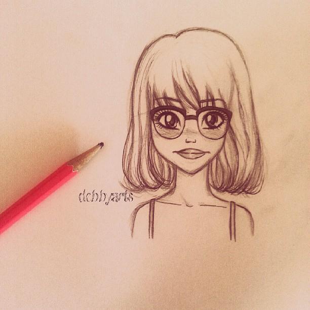Nerd Girl By DebbyArts