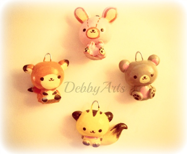 The gallery for --> How To Make Cute Clay Animals