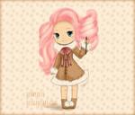 Cotton Candy Chibi Girl