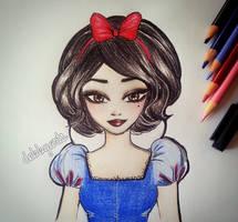 Snow White by DebbyArts