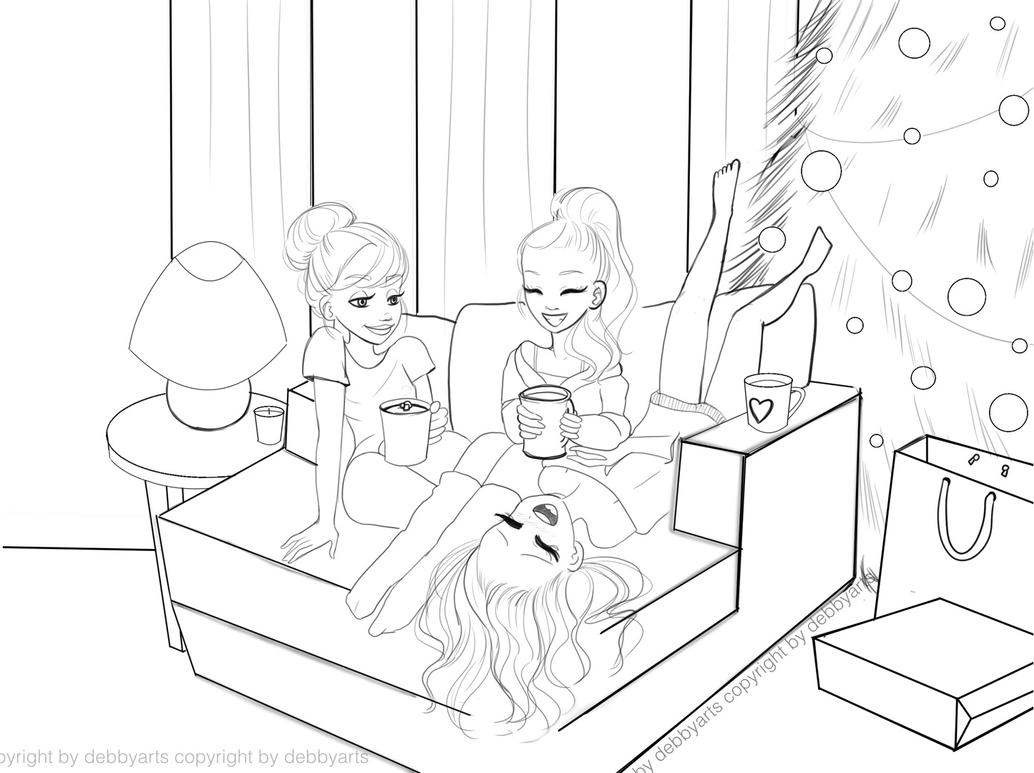 cozy friends with hot chocolate free download cozy hot debbyarts 2016 ...